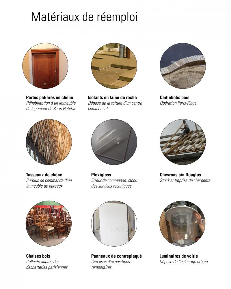 matériaux de réemploi