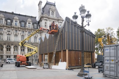 Un chantier au coeur de Paris - 23 septembre