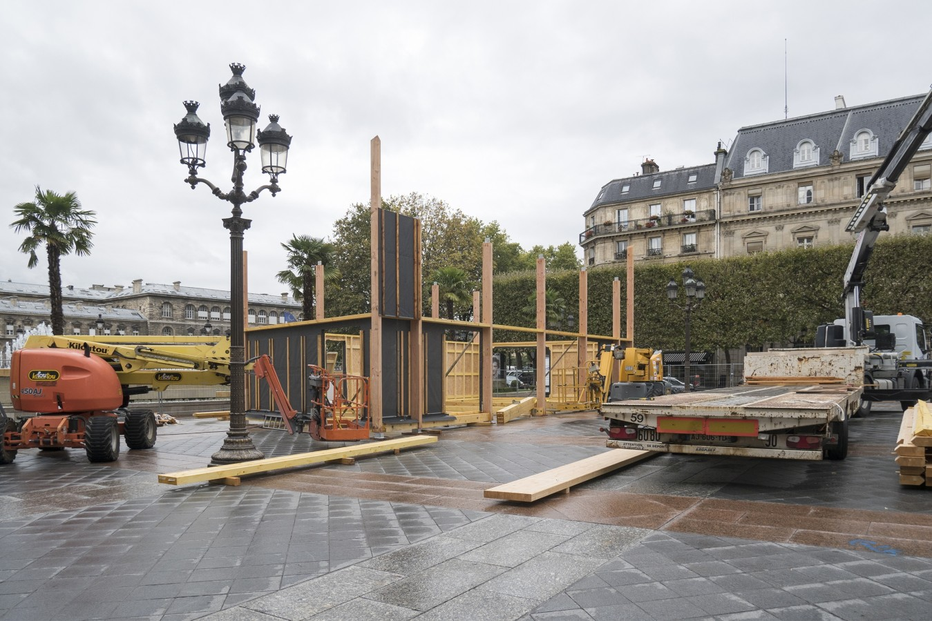 Un chantier au coeur de Paris - 16 septembre