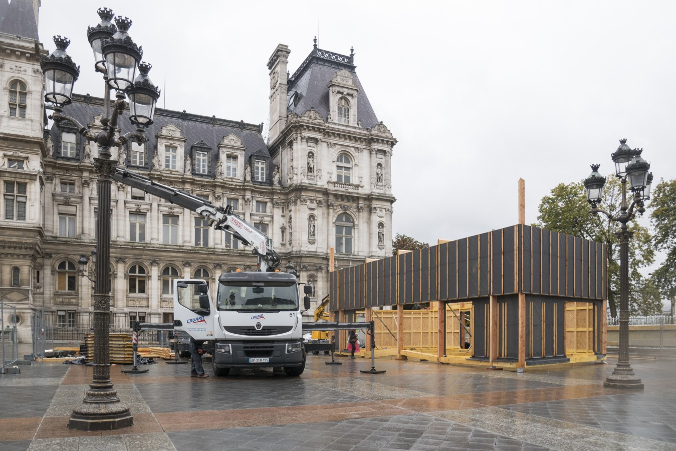 Un chantier au coeur de Paris - 15 septembre