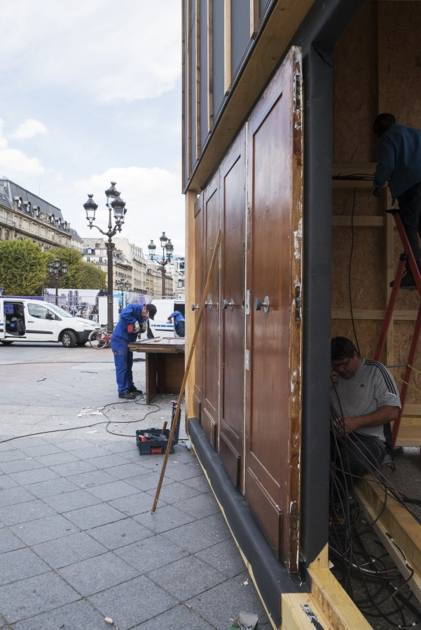 Un chantier au coeur de Paris - 21 septembre