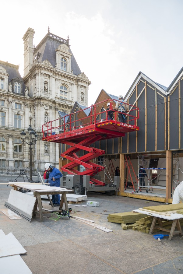 Un chantier au coeur de Paris  - 25 septembre